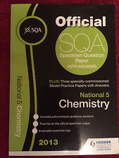 VGC OFFICIAL SQA National 5 CHEMISTRY PRACTICE PAPERS  HODDER GIBSON REVISION