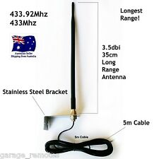 433.92MHZ Antenna Use With Garage Doors & Gate Openers Automatic Gates Ant-1 APC