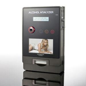 ETILOMETRO A MONETA AL-4000V VIDEO FOTO IMMAGINI + Certificato di Calibrazione