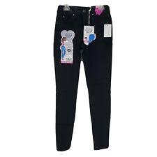YMI WannaBettaButt Womens Junior Jegging Black 3 Midrise Denim Pants New
