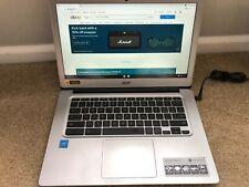 "Acer  CB3-431 Chromebook 14  laptop.    14""  SCREEN."