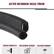 Rubber Trim Seal, Automotive Weatherstrip Door Sharp & Rough Edge Safeguard 18FT