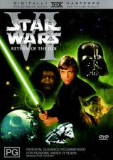 STAR WARS - RETURN OF THE JEDI DVD - REMASTERED (PAL, 2004) Free Post