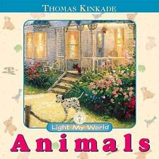 Light My World Board Book: Animals