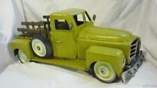 "Hand Made Metal Pickup Truck Model 13 1/2"" Long X 8 1/4"" Wide X 5 1/2"" Tall"