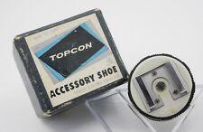 Boxed Unused - Topcon RE Super D DM  SLR Camera Flash Hot Shoe Accessory Mount