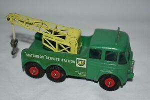 Matchbox King Size #12 Forden Breakdown Tractor Wreaker