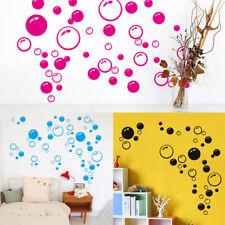 wall art bathroom shower tile removable decor decal mural kid sticker bubble  R