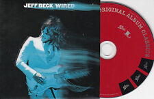 CD CARTONNE (CARDSLEEVE) 8T JEFF BECK WIRED DE 2008
