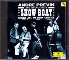 ANDRE Previn Play Jerome Kern: show Boat quadro Mundell Lowe Ray Brown Grady Tate DG CD