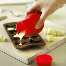 Silicone Chocolate Melting Mold Butter Sauce Milk Pot Kitchen Microwave Pop