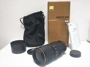 OPEN BOX Nikon NIKKOR 70-200mm f/4 G SWM AF-S VR IF SIC N ED Lens from Japan 777
