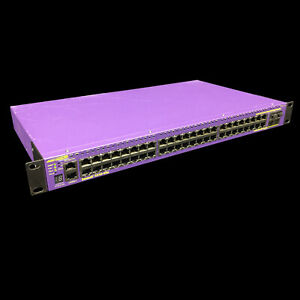 Extreme Networks Summit X440-48p 48 Port PoE Gigabit Ethernet Switch 16506