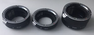 Camera Adapters 13mm 21mm 31mm All Together C-EOS