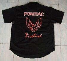 NEU PONTIAC FIREBIRD nok Fan- Hemd schwarz shirt blouse camisa chemise camicia