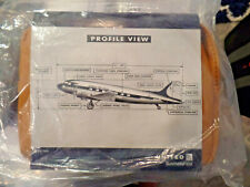 UNITED AIRLINES AMENITY KIT COWSHED DC-3