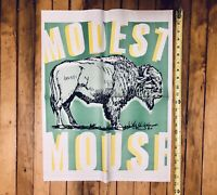 Modest Mouse Promo Poster bitter buffalo ORIGINAL 90s Lonesome Crowded West Rare