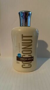 NEW SIGNATURE VANILLAS COCONUT by Bath and Body Works Body Lotion, 8 FL OZ