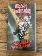 Iron Maiden Maiden England VHS, 1988 Birmingham NEC Seventh Tour of a Seventh To