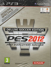 PRO EVOLUTION SOCCER 2012 EDIZIONE DE LUXE Play station 3