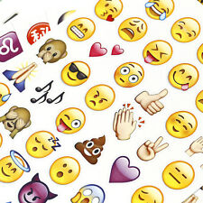 48 Die Cute Emoji Smile Face Stickers Pack Decor Stickers For iPhone Twitter