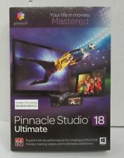 New Pinnacle Studio 18 Ultimate Video Movie Maker Software