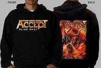 ACCEPT-Blind Rage-heavy metal-Sabaton-Judas Priest, Hoodie-sizes:S to XXL