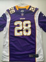 Nike Minnesota Vikings Football Jersey #28 Adrian Peterson Size M