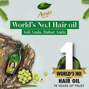 Dabur Gooseberry Amla Hair Oil - 90ml | Strengthens the Hair & Nourishes Scalp