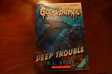 GOOSEBUMPS Deep Trouble RL STINE EUC