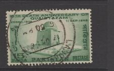 PAKISTAN 1964 15p GREEN Fine Used QUAID-I-AZAM