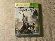 Assassins Creed III 3 GameStop Edition for XBOX 360 game console Preowned