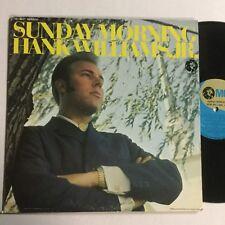 "Hank Williams Jr Sunday Mourning MGM Label Canadian Pressing 12 "" LP"