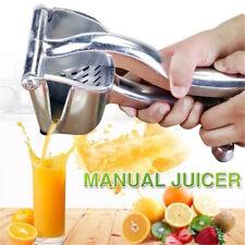 STAINLESS STEEL FRUIT JUICER Manual Hand Juice Press Squeezer Extractor US