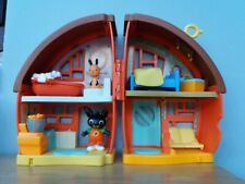 Bing Bunny House with Flop & Bing Figures. Fully Complete with accessories. Toys