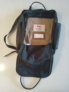 fjallraven black laptop bag, lightly used, price negotiable, collection