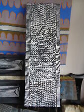 Authentic Aboriginal Art- PHYLLIS THOMAS - 2007 - STRETCHED