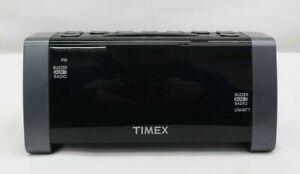 Timex Alarm Clock Radio T235Y Digital 12 Hour Clock  TF