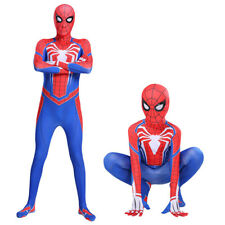Game PS4 Spider-Man Super Hero Halloween Cosplay Costume Outfit Suit battle suit