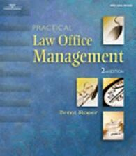PRACTICAL LAW OFFICE MANAGEMENT 2E (The West Legal Studies Series)-ExLibrary