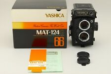 【NEAR MINT in BOX】 Yashica Mat 124G 6x6 TLR Film Camera from Japan #556