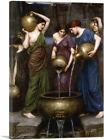 ARTCANVAS Danaides 1903 Canvas Art Print by John William Waterhouse
