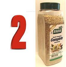 BADIA COMPLETE SEASONING (Sazon Completa) 1.75LB X 2 Spice Blend Gluten Free AAA