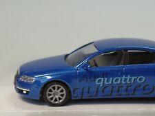 Busch Audi A6 Limousine Deutscher Ski-Verband DSV, blau-met. - 49601 - 1:87