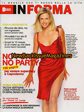 Italian Donna In Forma 12/07,Charlize Theron,December 2007,NEW