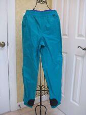 Columbia Youth Snow Ski Powder Pants Green Adjustable Waist Sz Xl