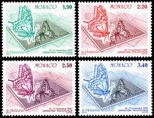 Monaco Scott 1586-1589 (1987) Mint NH VF Complete Set
