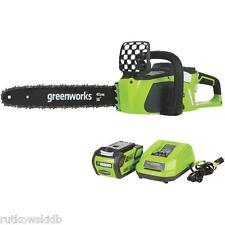 16-INCH Greenworks G-Max DigiPro 40V Cordless Chainsaw