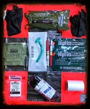 NAR Medical IFAK Trauma Refill Kit (TCCC, EMS,SIRK,IPOK,Prep,Ranger,SEAL,MEDIC)