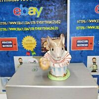 "Beswick Beatrix Potter's "" Mrs Tittlemouse "" Vintage figurine GOLD BP - 2A"